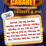 Afternoon Cabaret - 16th November