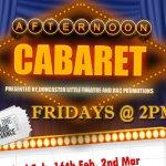 Afternoon Cabaret 1st June