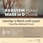 CONCERT: Rutter Requiem & Dvorak Mass in D