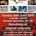 Doncaster Art Fair 4th Edition. June 30