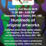 Doncaster Art Fair for Emerging and professional artist 31st Mar