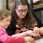 Holiday Family Workshop: printing