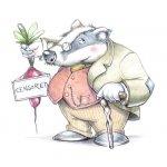 Badger concept art
