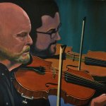 Violinists at the Old No7 Barnsley