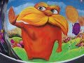 The Lorax - Once-ler spraypaint time-lapse XP School