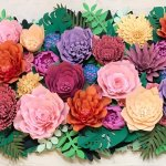 3D Flower Papercraft Workshop