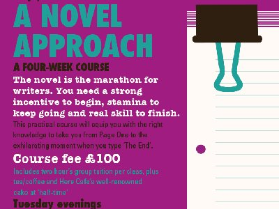 A Novel Approach: 4 week novel-writing course