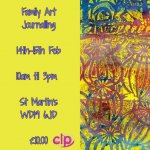 Art Journalling for families - Half Term Holiday Activity