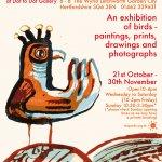 Birdland, an exhibition of bird pictures