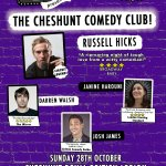 Cheshunt Comedy Club - 28th October 2018