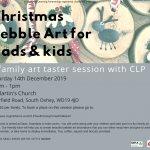 Christmas Pebble Art for Dads, Grandads & Kids