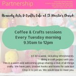 Coffee & Crafts (Weekly on a Tuesday)