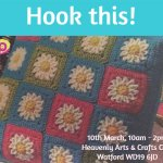 Daisy Cushion Crochet Workshop
