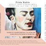 Frida Kahlo Portrait Painting Workshop
