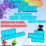 Fun in the Park- Borehamwood