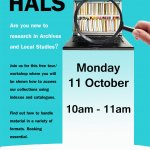 Getting started at HALS October 2021