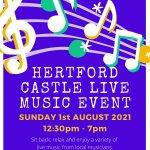 Hertford Castle Live Music Event