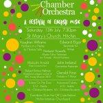 Hitchin Chamber Orchestra - Festival of English Music
