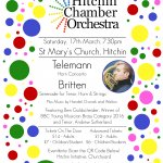 Hitchin Chamber Orchestra -March 17th  Spring Concert