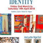 Identity exhibition of art