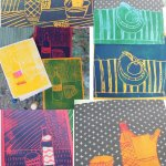 Kids Club Fine Art : Monoprinting