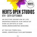 Life Drawing Happenings Open Studios exhibition
