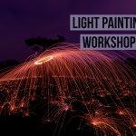 Light painting in Cassiobury Park, Watford