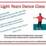 Light Years Adult Dance Class - Hertford