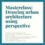 Masterclass: Drawing urban architecture using perspective