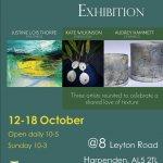 Pop Up Art Exhibition Harpenden