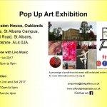 Pop Up Art Exhibition in St Albans