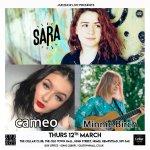 Sara / Minnie Birch / Cameo | Cellar Bar, Hemel Old Town Hall
