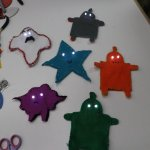 Soft Circuit Workshop: Design and sew your own robot while learn