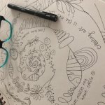 Spiral Sketching & Colouring for wellbeing - FREE session