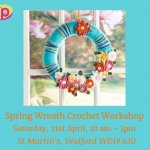 Spring Wreath Crochet Workshop for Adults