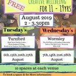 Summer Art & Wellbeing Workshops