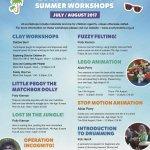 Summer Art Workshops for Children