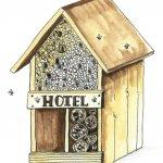 Summer at Hertford Museum. Week 2: Build a Bug Hotel