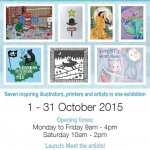 The Big Draw exhibition at Artistsmeet