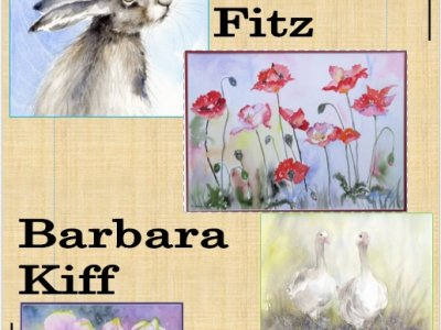 The Wonderful Watercolour Works of Barbara Kiff and Heather Fitz