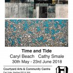 'Time and Tide'  Caryl Beach and Cathy Smale at Courtyard Arts
