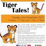 Toddler Tuesday at Hertford Museum: Tiger Tales