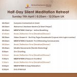 Virtual Half-Day Silent Meditation Retreat | Sunday 11th April