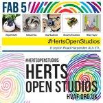 Welcome to the Fab 5 2019 #HertsOpenStudios