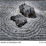 Zen Garden at Dartington Hall