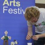 Aardman Aimations at Royston Arts Festival 2013