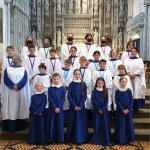 Choristers and Choral Scholars at St Albans Cathedral 2021