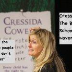 Cressida Cowell at The Beacon School