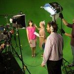 Studio filming