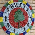 School Mosaic Mural